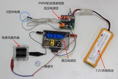 线板结构电晕风散热器及其自动温控系统设计